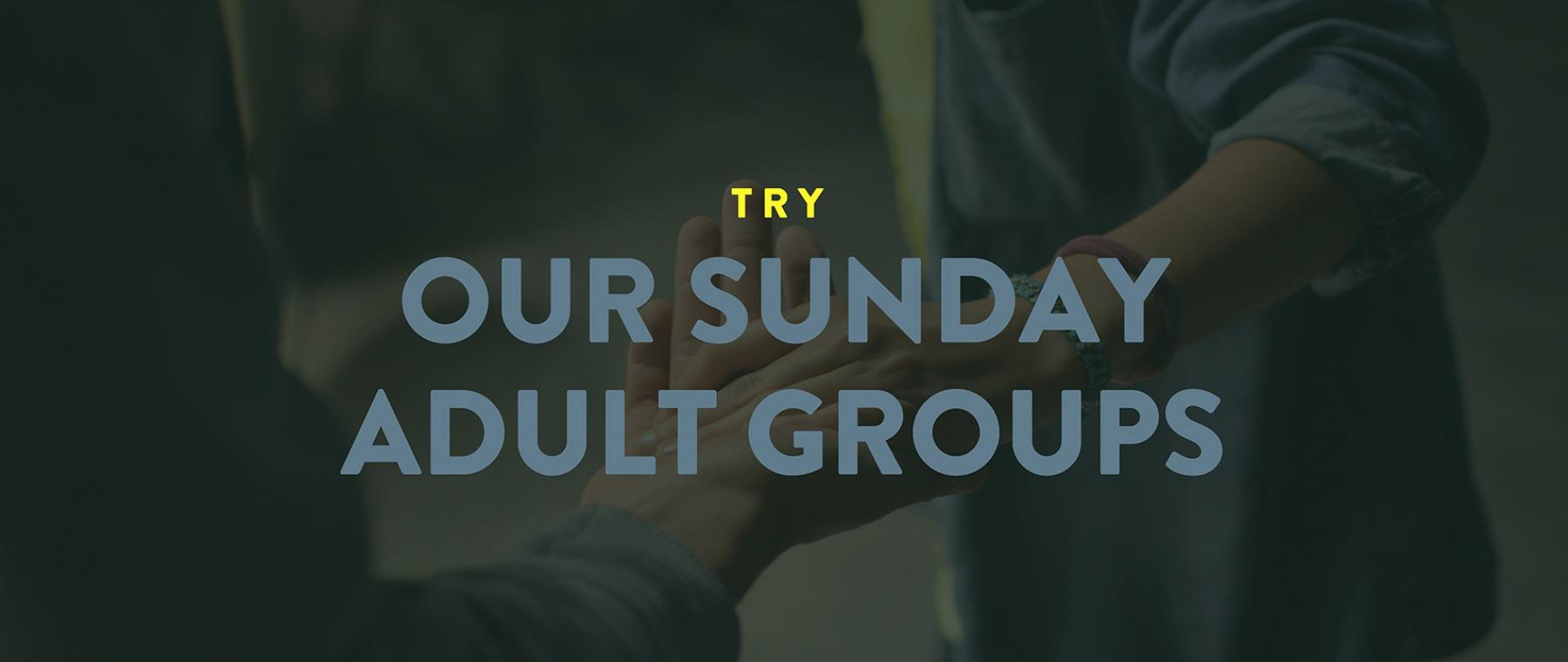 Sunday Adult Groups