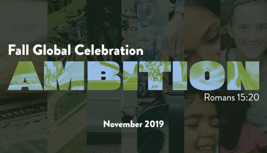 Fall Global Celebration - Ambition