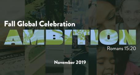 Fall Global Celebration - Ambition