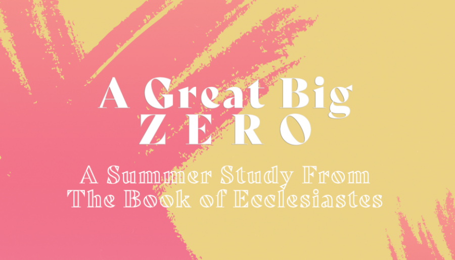 A Great Big Zero