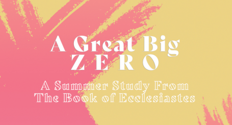 A Great Big Zero