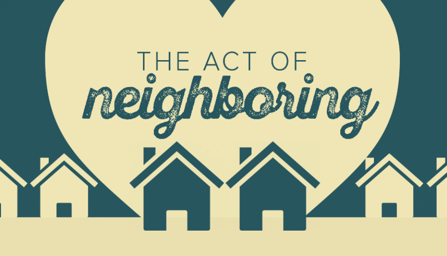The Act of Neighboring